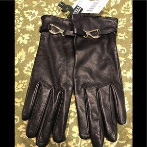 Black Gloves Ralph Lauren NWT Size L
